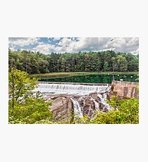 Dam on the Ottauquechee River Photographic Print