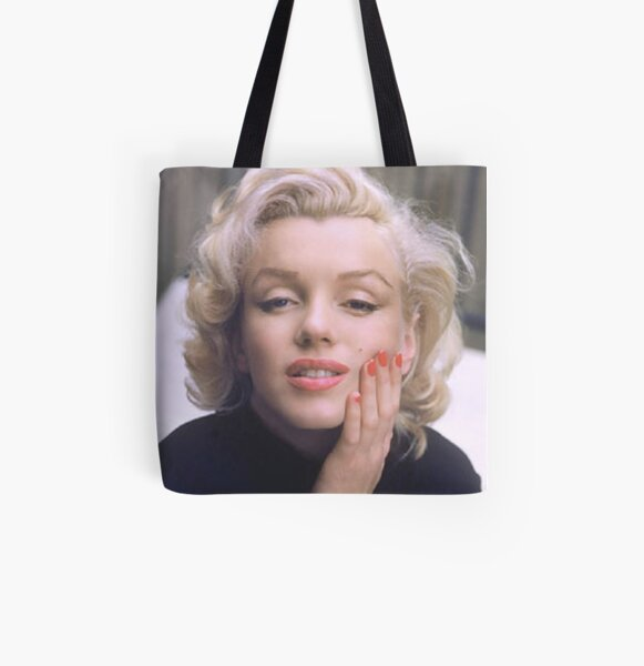 Marilyn in Color All Over Print Tote Bag