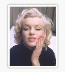 Marilyn in Color Sticker
