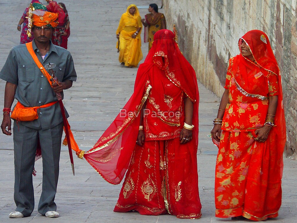 Wedding at Meherengarh Fort, Jodhpur, India by Bev Pascoe