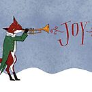 Christmas Fox by SusanSanford