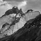 Patagonian Mountains by Dave Hare