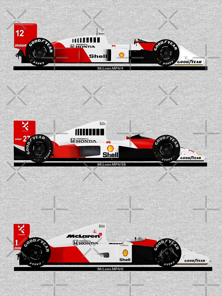 Ayrton Senna - Champion cars by JageOwen