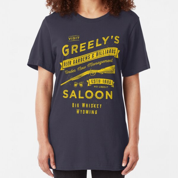 Greely's Saloon Slim Fit T-Shirt