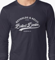 Reynolds & Kelly - Boiled Denim Long Sleeve T-Shirt