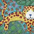 Leopard Cat by KFStudios