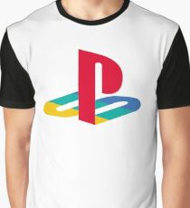 Playstation Logo Graphic T-Shirt