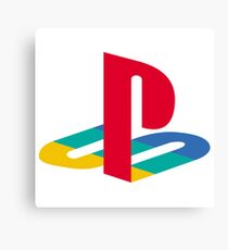 Playstation Logo Canvas Print
