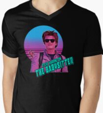Stranger Things Steve Harrington The Babysitter  Men's V-Neck T-Shirt