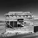 Derelict Shack in Apple Valley. by Dave Hare