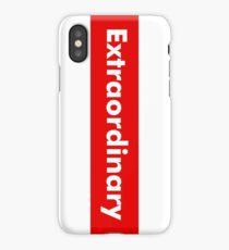Extraordinary iPhone Case/Skin