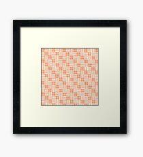 Interpretive Weaving (Autumn Breeze) Framed Print