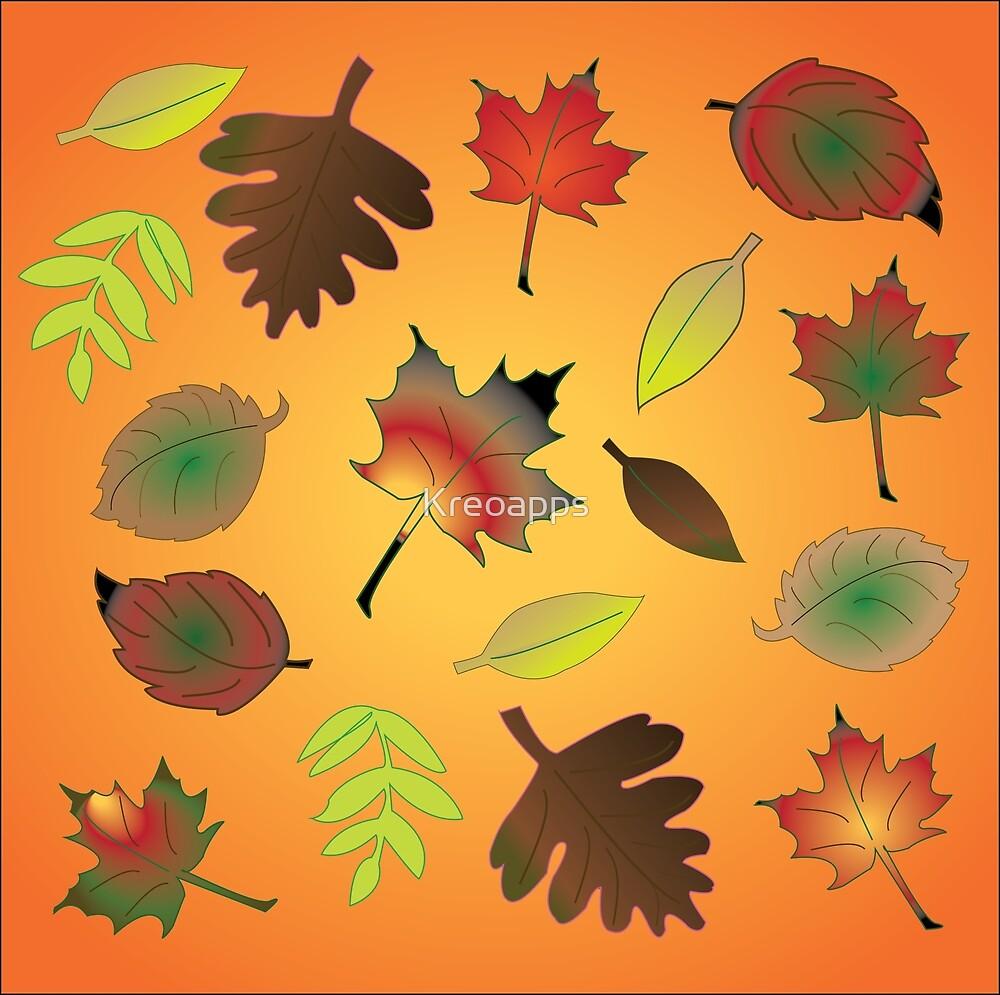 autumn leafs by Kreoapps