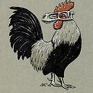 Eodromaeus Skull Chicken by Natalie Metzger