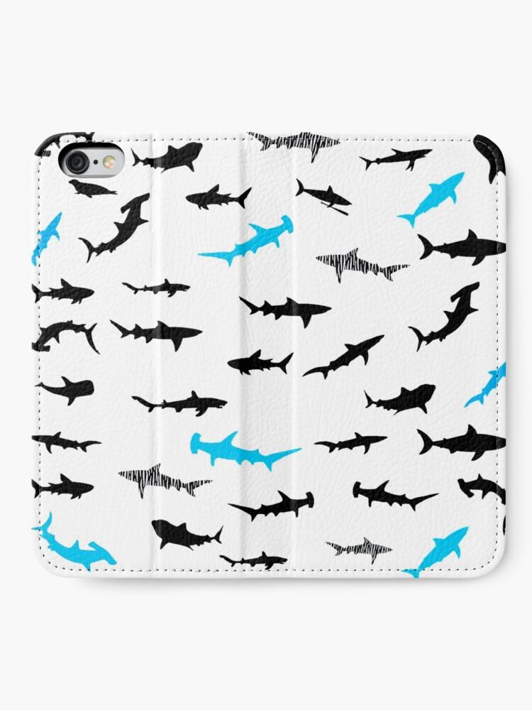 Alternative Ansicht von Haie iPhone Flip-Case