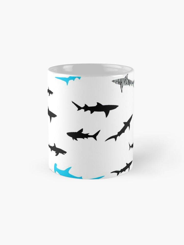 Alternative Ansicht von Haie Tasse