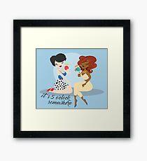 Happy Hour: Perdita & Lady Framed Print