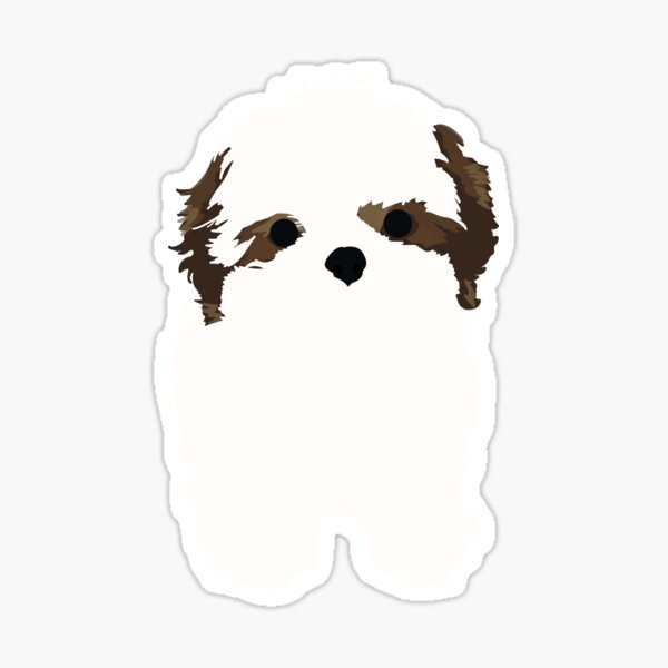 Shihtzu Sticker