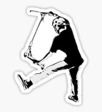 High Flying Scooter Boy - Stunt Scooter Sticker