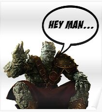 Korg, Hey man... Poster