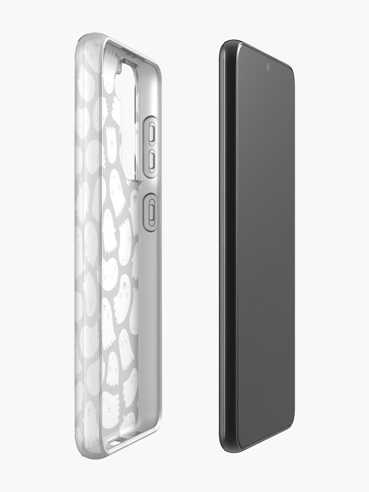 Alternate view of Spooky Kawaii Ghosts Samsung Galaxy Phone Case