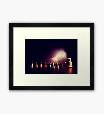 they go two by four by six by eight Framed Print