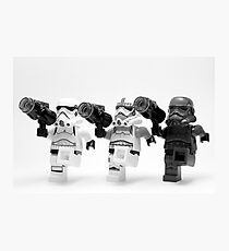 Lego Star Wars Stormtroopers Can-Can  Photographic Print