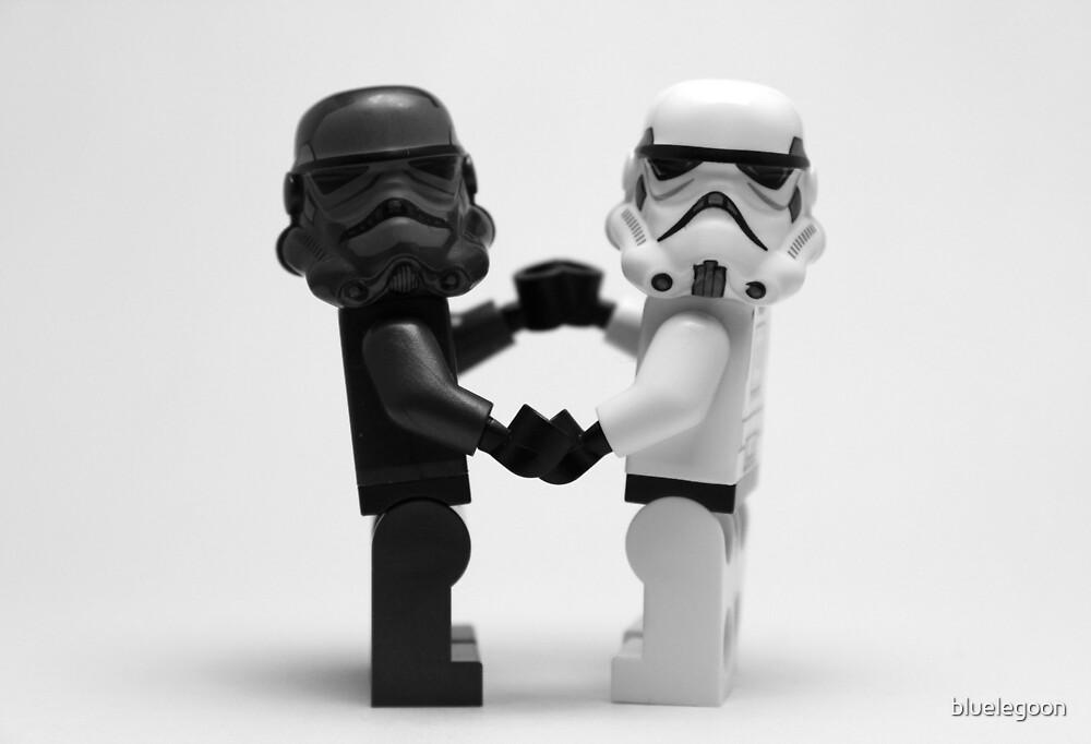 Lego Star Wars Stormtroopers Love by bluelegoon