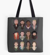 Black Sails characters (faceless) Tote Bag