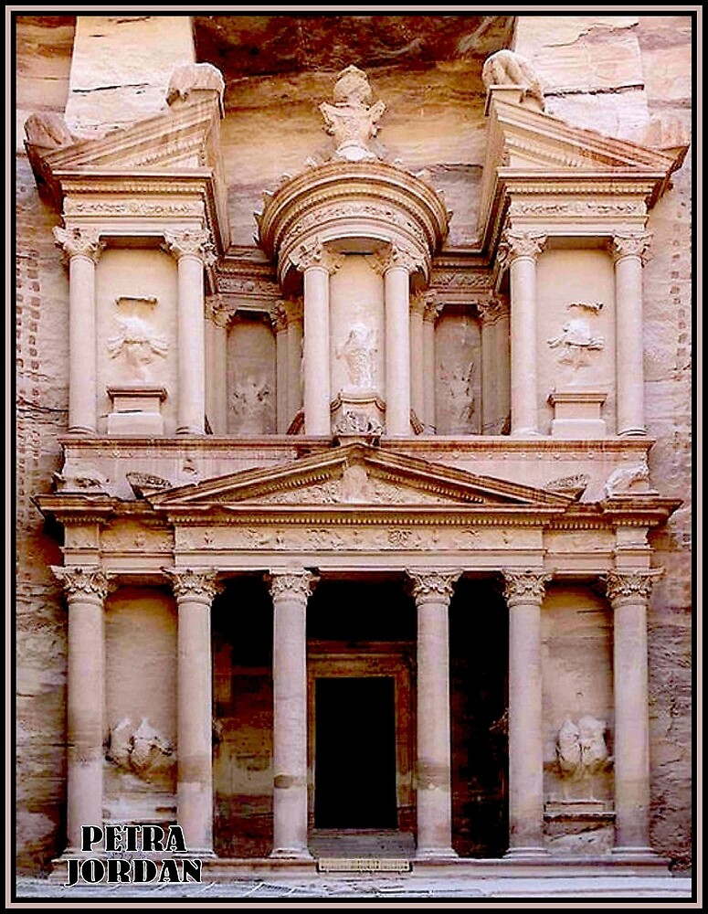PETRA JORDAN : World Heritage Historic Site Print by posterbobs