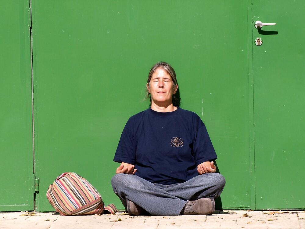 Meditating by MichaelBr