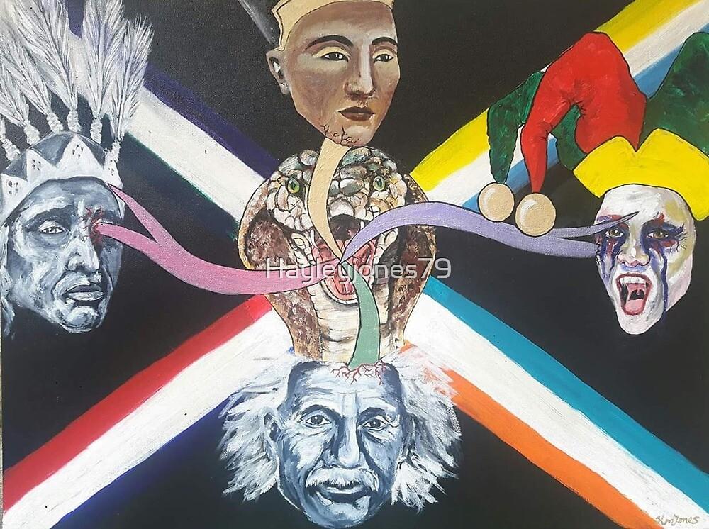 Evolution  by Hayley M Jones