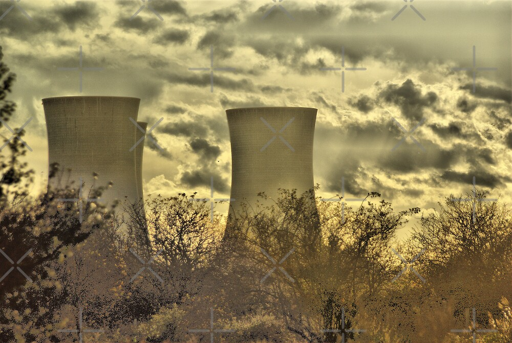 Richborough Power Station by Catherine Hamilton-Veal  ©