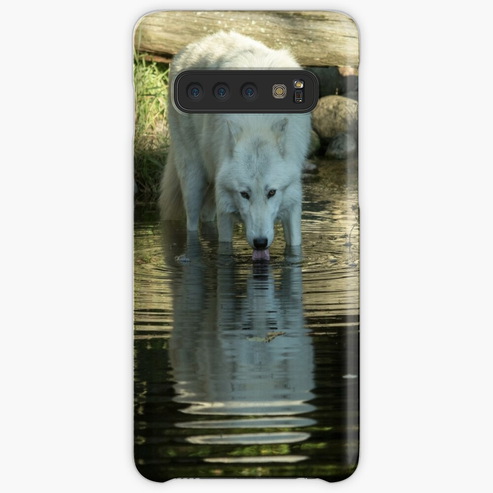 Wolf reflection Case & Skin for Samsung Galaxy
