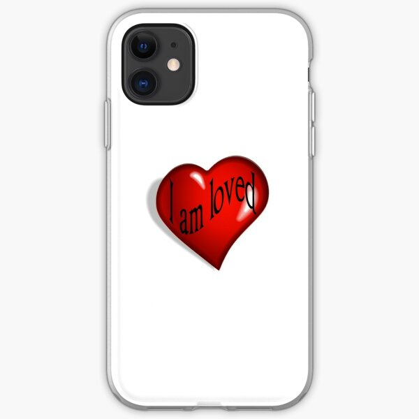 I Am Loved T-shirt, Hoodie and More iPhone Soft Case