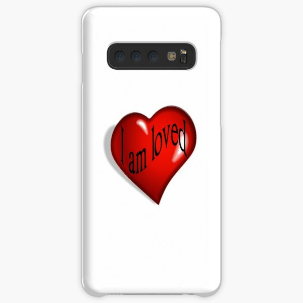 I Am Loved T-shirt, Hoodie and More Samsung Galaxy Snap Case