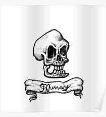 Murray, The Demonic Talking Skull Poster