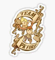 Team PK Fire Sticker