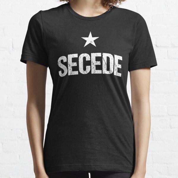 Secede Star (on black) Essential T-Shirt
