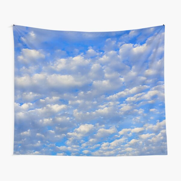 Lots of tiny clouds. Tapestry