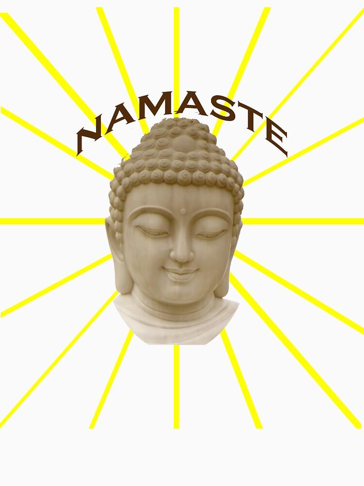 Namaste  by Rightbrainwoman