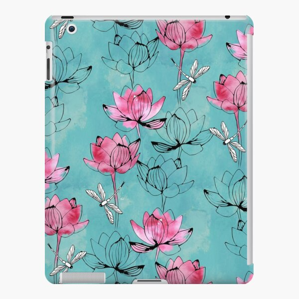 Waterlily dragonfly iPad Snap Case