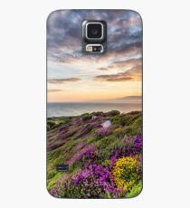 The Needles At Sunset Isle Of Wight Case/Skin for Samsung Galaxy