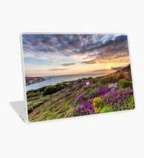 The Needles At Sunset Isle Of Wight Laptop Skin