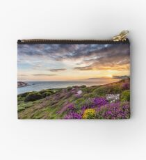The Needles At Sunset Isle Of Wight Studio Pouch
