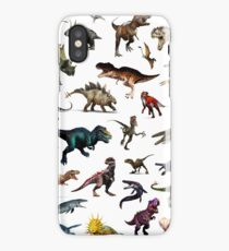 Dinusaurs color iPhone Case/Skin