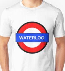 Waterloo Underground Station Unisex T-Shirt