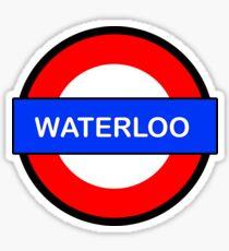 Waterloo Underground Station Sticker