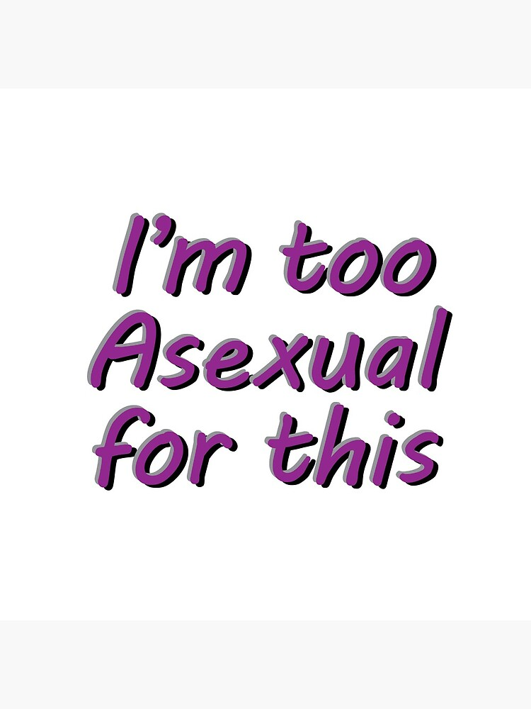 im asexual