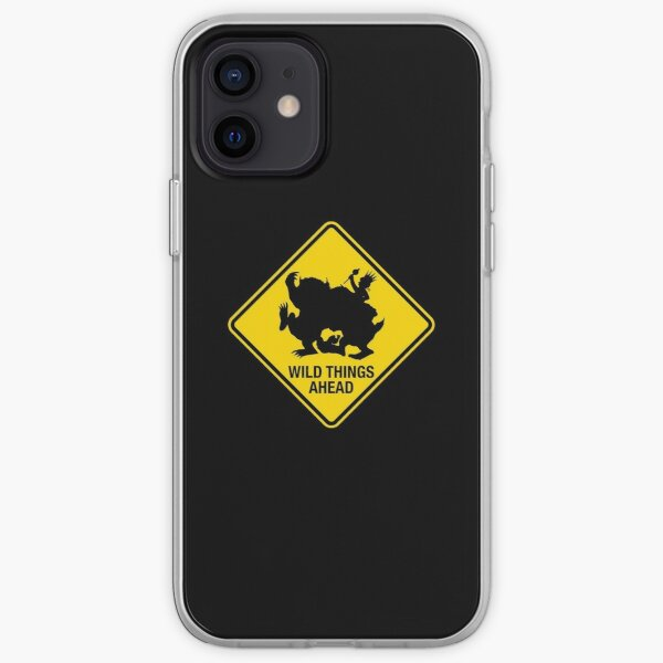 Wild Things Ahead iPhone Soft Case